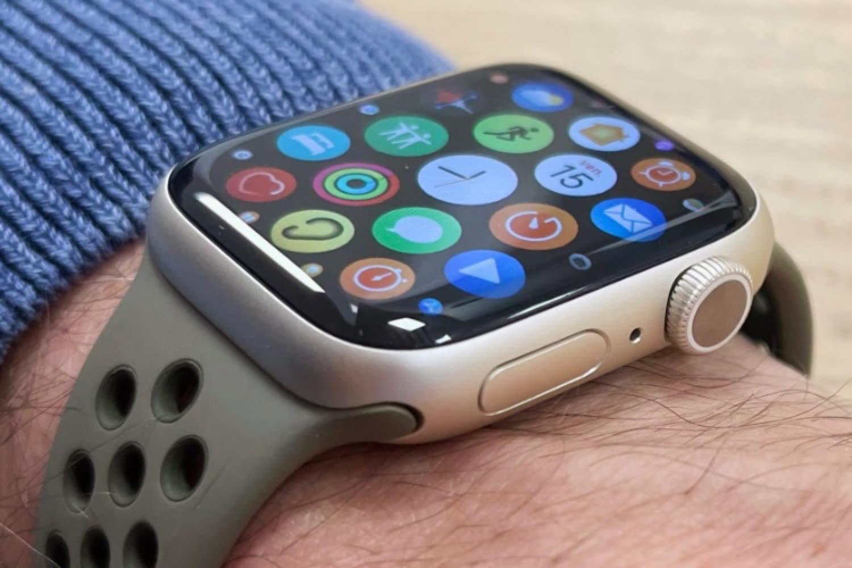 Test de l'AppleWatch Series 7 : un grand écran au poignet