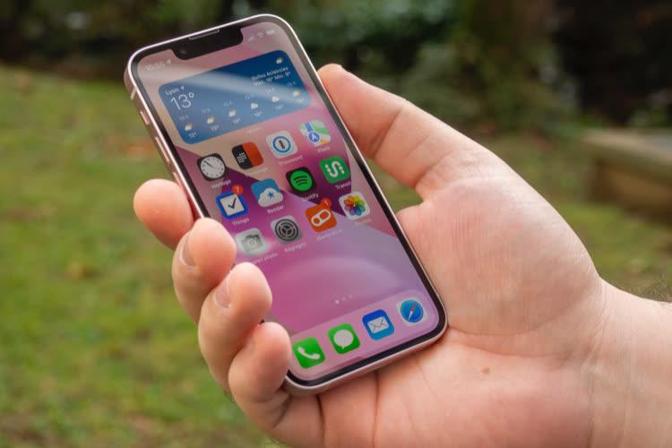 Test de l'iPhone 13 mini: un menu plaisir