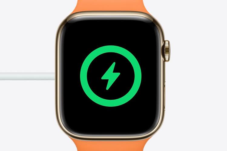 AppleWatch Series 7 : comment profiter de la recharge rapide