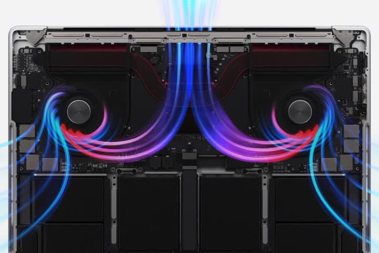 Le mode haute performance limité au MacBookPro 16 pouces avec M1 Max