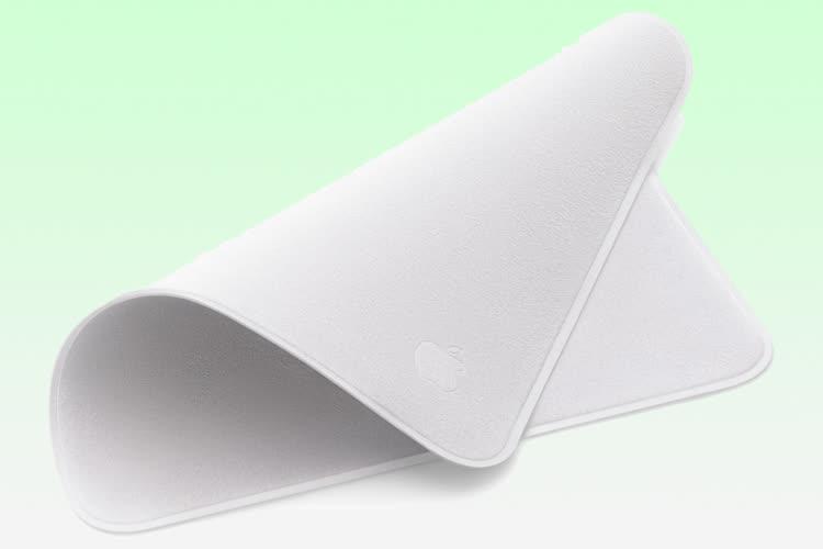 Les nouveaux accessoires des MacBookPro, dont la chiffonnette Apple à 25€, sont disponibles