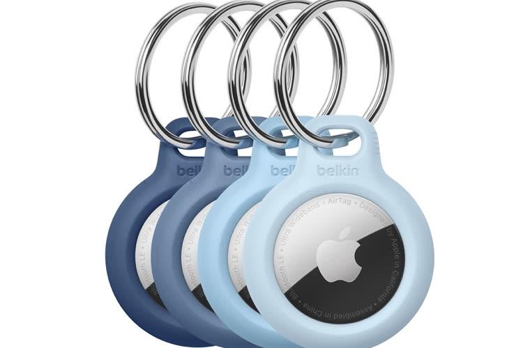 AppleStore : un lot de 4 porte-clés pour AirTag et un support pour AppleTV et Siri Remote