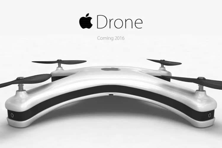 Brevets : Apple s'intéresse aux drones