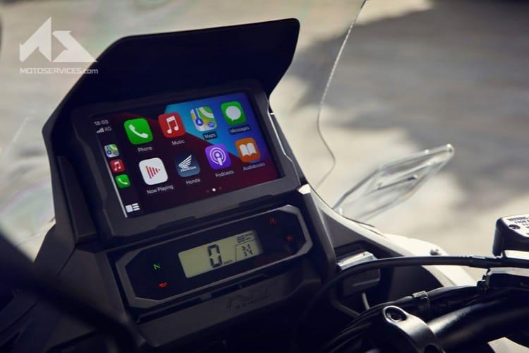 Honda a présenté une nouvelle moto compatible CarPlay