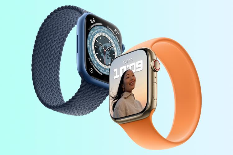 Rumeur: trois tailles différentes pour AppleWatchSeries8