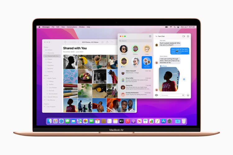 Apple ajuste la liste des nouveautés de Monterey juste avant sa sortie